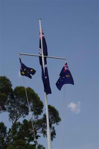 Flag Raising Ceremony at Upwey Belgrave RSL