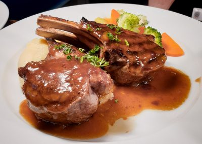 Meals at Upwey Belgrave RSL at Poppies Bistro