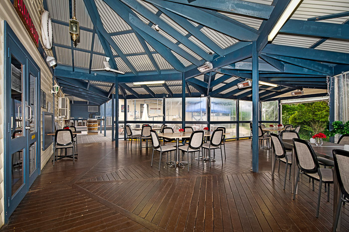 outdoor Bistro at Upwey Belgrave RSL Club and Restaurant